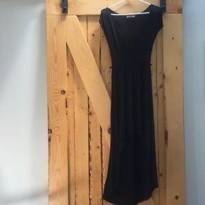 Body central high low dress